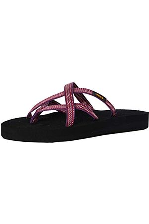Teva Damen Olowahu Sandal Womens Pantoffeln, (Antigous Red Plum Arpl)