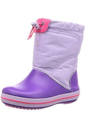 Crocs Crocband LodgePoint Boot Kids, Unisex - Kinder Schneestiefel, (Lavender/Neon Purple 5p8)