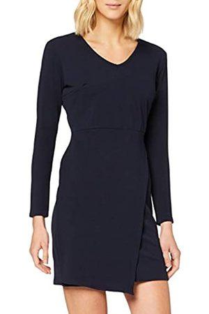 Mela Damen V Neck Bodycon Dress Lässiges Kleid
