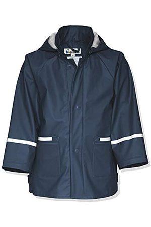 Playshoes Kinder Regenjacke-Mantel mit abnehmbarer Kapuze