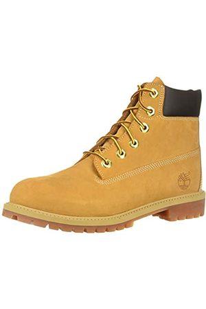 Timberland Unisex-Kinder 6 in Premium Waterproof Klassische Stiefel, (Wheat Nubuck)