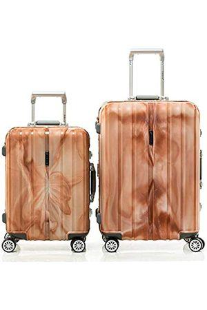 Shaik SH008 Designer Koffer Serie Marble - DEL 2X TSA Schloss Material Polyphthalamide (Grau