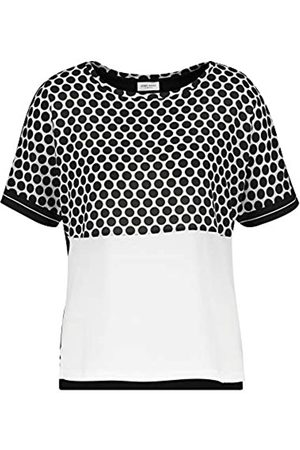 Gerry Weber Damen 1/2 Arm Shirt Mit Patchoptik Leger 36