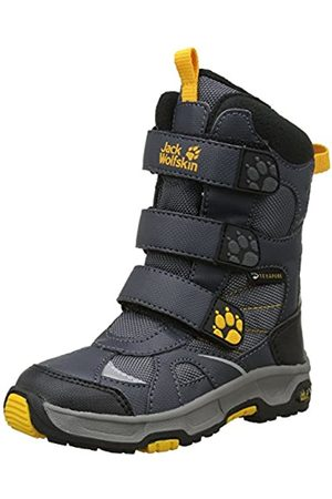 Jack Wolfskin Jungen Boys Snow Diver Texapore Schneestiefel, (Burly Yellow Xt 3802)