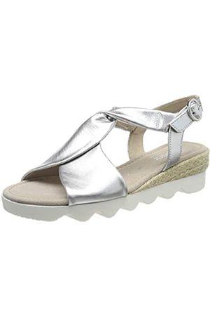 Gabor Shoes Damen Comfort Sport Riemchensandalen, Mehrfarbig ( (Jute) 10)