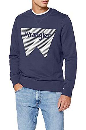 Wrangler Herren Crew Sweat Sweatshirt