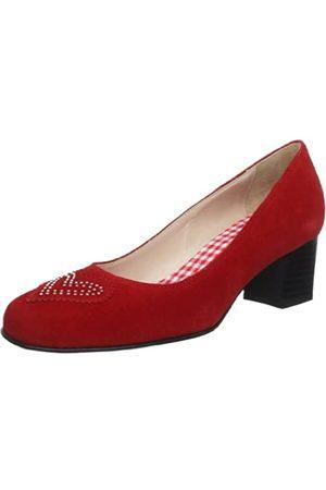 Diavolezza Damen LEA Pumps, (Red)