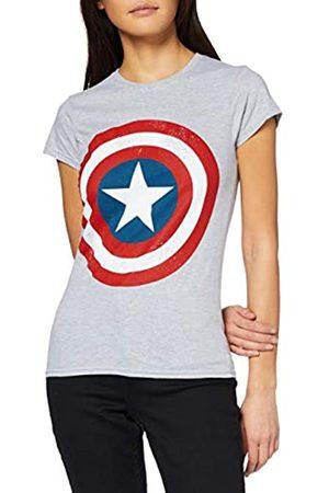 Marvel Damen Avengers Captain America Distressed Shield