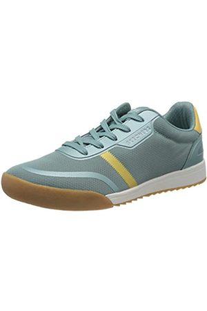Skechers Damen Zinger 2.0 Sneaker, (Blue Mesh/Yellow Duraleather Trim BLYL)
