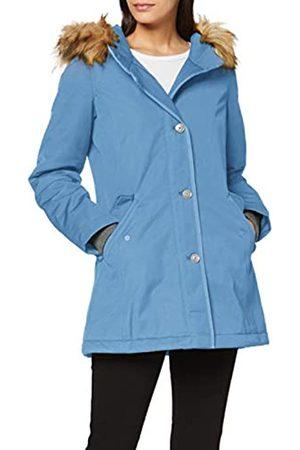 Marc O' Polo Damen 71139 Kurzmantel mit Thermore Ecodown-Füllung, warme Winterjacke ohne Daunen, Mantel mit großer Kapuze