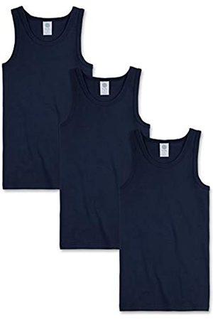 Sanetta Jungen 3Er Pack Shirt, 300000 Unterhemd