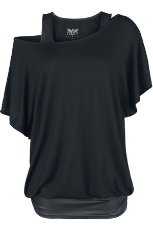 Black Premium by EMP Damen T-Shirts, Polos & Longsleeves - When The Heart Rules The Mind T-Shirt
