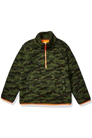 Amazon Quarter-Zip High-Pile Polar Fleece outerwear-jackets, Camo Print