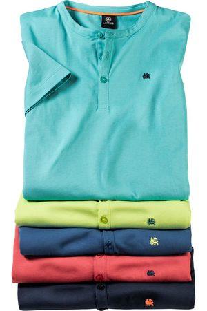 Lerros 5er Pack Herren Serafino-Shirts