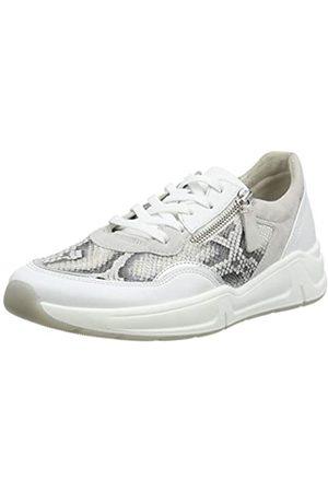 Gabor Shoes Damen Comfort Basic Sneaker, (Leinen/Weis/ 83)