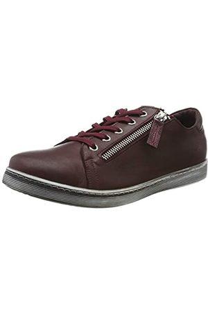 Andrea Conti Damen 0348732 Sneaker, (Burgund 582)
