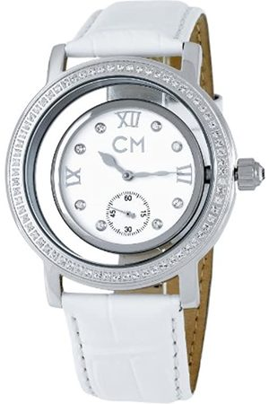 Carlo Monti Armbanduhr für Damen mit Analog Anzeige, Automatik-Uhr und Lederarmband - Wasserdichte Damenuhr mit zeitlosem, schickem Design - klassische