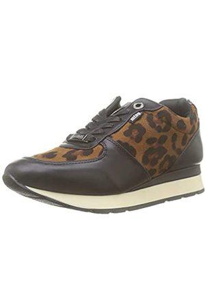 MTNG Attitude Damen 69865 Sneakers, (Napa Negro/Leop Camel C47931)