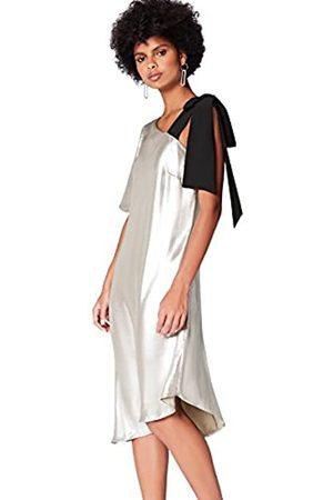 FIND Amazon-Marke: Damen Asymmetrisches Midi-Kleid, 40