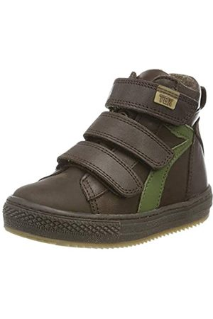Bisgaard Jungen Eik Hohe Sneaker, (Brown 302)