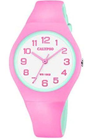 Calypso Quarz Uhr mit Kunststoff Armband K5777/6
