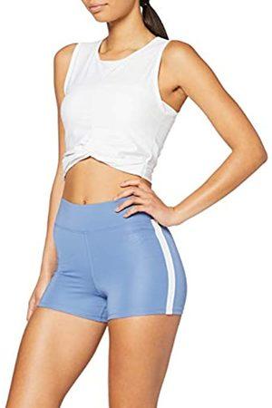 AURIQUE Amazon-Marke: Damen Sportshorts mit Seitenstreifen, 34