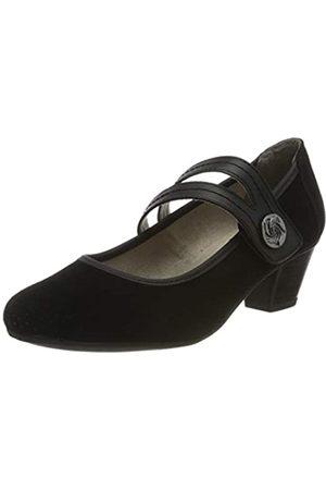 Jana 100% comfort Damen 8-8-24331-24 Slipper, (Black 001)