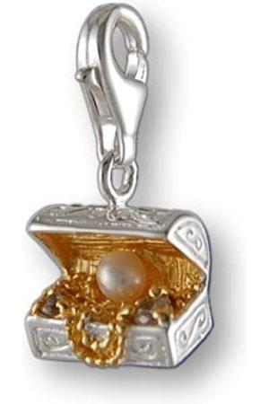 Melina Damen-Charm Anhänger Schatztruhe Zirkonia 925 Sterling 1800258