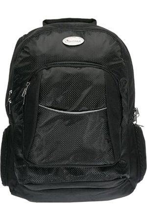 LIGHTPAK 46090 - Business Rucksack ADVANTAGE, Laptoprucksack aus Nylon, Daypack für 17 Zoll Notebook, Notebookrucksack mit integriertem Regenschutz, Bagpack in