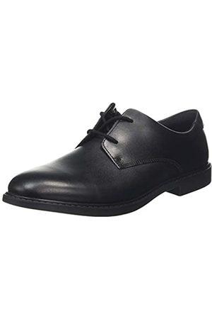 Clarks Jungen Scala Loop Y Derbys, (Black Leather Black Leather)