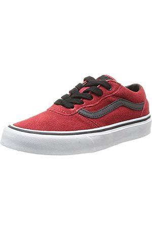 Vans Unisex-Kinder Y Milton (Suede) Sneaker, (Rouge (Chili Pepper/Black)