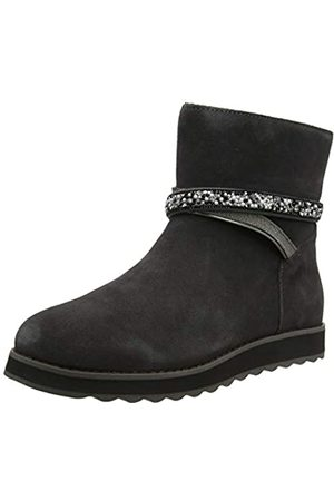 Skechers KEEPSAKES 2.0, Women Ankle Boots, Grey (Charcoal Suede Ccl)
