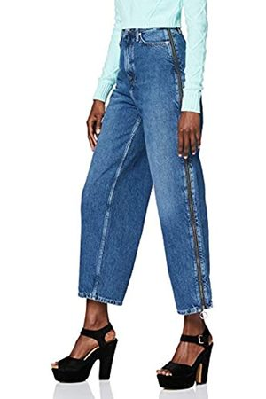 Pepe Jeans Damen Mara Zip Straight Jeans