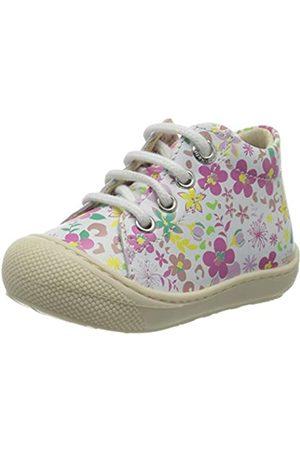 Naturino Mädchen Cocoon Sneaker, Mehrfarbig (Bianco-Multi 1N21)