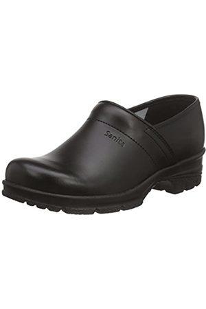 Sanita Workwear Unisex-Erwachsene San-Duty Closed-O2 Clogs, (Black 2)