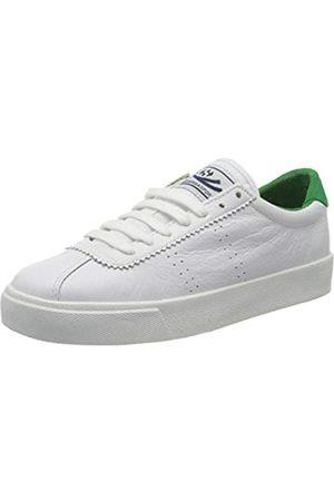Superga Unisex-Erwachsene 2843 COMFLEAU Sneaker, (White-Island Green)