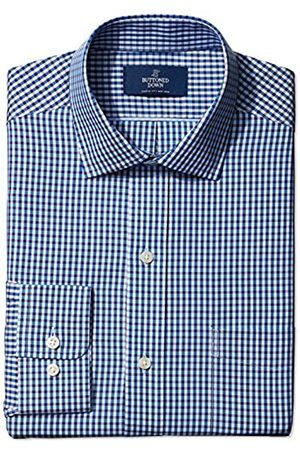 Buttoned Down Classic Fit Pattern Smoking Hemd