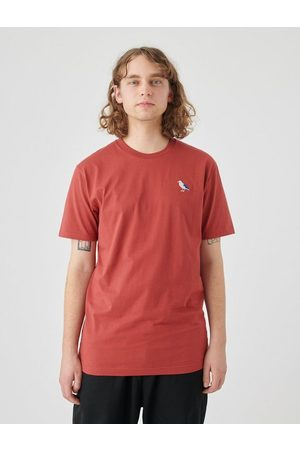 Cleptomanicx T-Shirt »Embro Gull« mit Gull-Stickerei