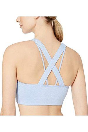 CORE Amazon-Marke: Damen Sport-BH (XS-3X), Spectrum-Material, lange Linie, Kreuzträger