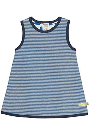 loud + proud Mädchen Ringel Aus Bio Baumwolle, GOTS Zertifiziert Kleid