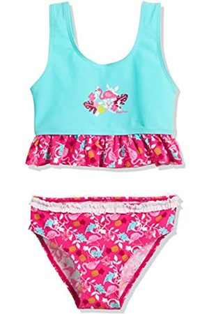 Playshoes Mädchen UV-Schutz Bikini Flamingo Tankini