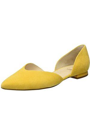 Högl Damen Tenderly Geschlossene Ballerinas, (Yellow 81