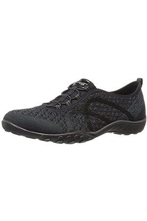 Damen Breathe Easy Fortune Knit 23028 Sneaker, (Black Blk)