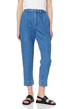 Wrangler Damen MOM Chino Straight Jeans