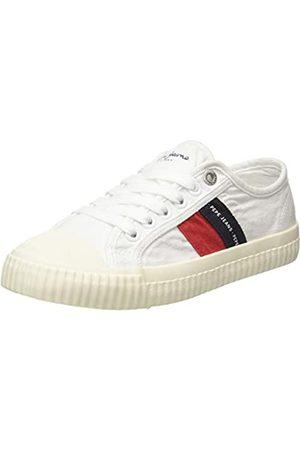 Pepe Jeans London Jungen Malibu JUNIOR Sneaker, (White 800)