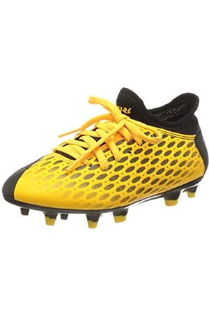 Puma Unisex-Kinder Future 5.4 Fg/ag Jr Botas de fútbol, (Ultra Yellow Black)