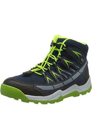 Lurchi Jungen Tristan-TEX Hohe Sneaker, (Navy Green 42)
