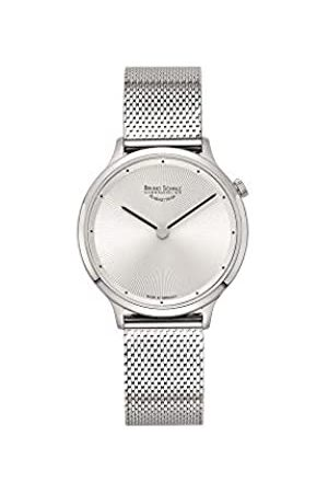 Soehnle Bruno Söhnle Damen Analog Quarz Uhr mit Edelstahl Armband 17-13213-250