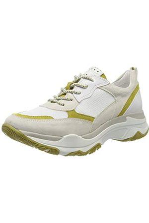 Marco Tozzi Damen 2-2-23746-34 Sneaker, Mehrfarbig (Pebble/Lime 219)
