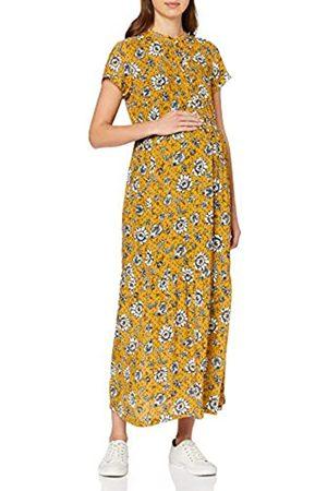 Queen mum Damen Dress Maxi Woven Nurs Ss AOP Denver Kleid